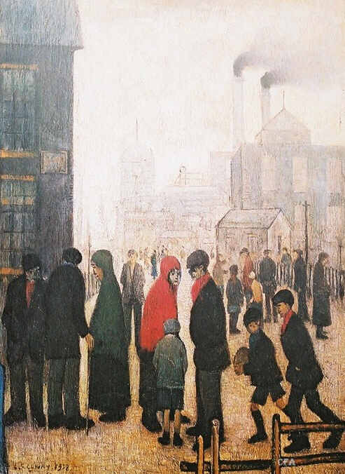 Lowry Prints Salford Street Scene Limited Editions