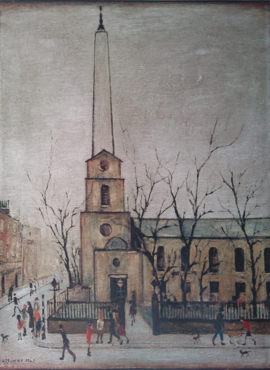 Lowry Prints St Luke S London Unsigned Limited Editions